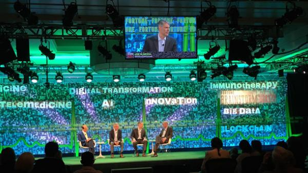 Joe Almeida Talking at Fortune's annual Brainstorm Health conference